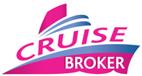 cruise broker logo design sample
