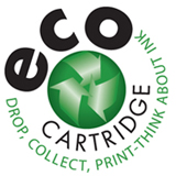 eco cartridge logo design sample