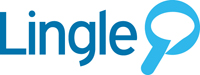 lingle search engine logo design sample