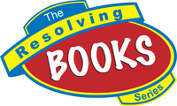 Resolving books logo design sample