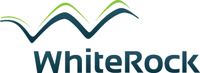 whiterock energy logo design sample